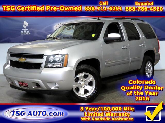 2013 Chevrolet Tahoe LT 5.3L V8 4WD W/Leather