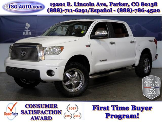 2007 Toyota Tundra Limited Crew Max 5.7L V8 4WD W/Leather SunRoof