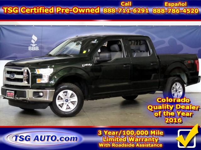 2015 Ford F-150 XLT Super Crew 3.5L V6 Turbo 4WD