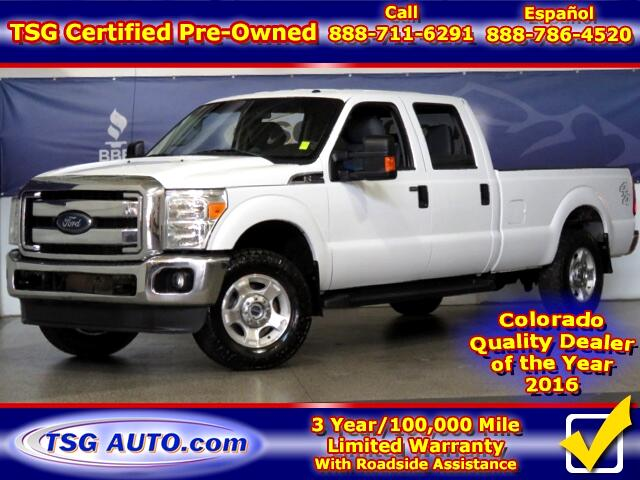 2012 Ford F-250 SD XLT Super Crew 6.2L V8 4WD Long Bed
