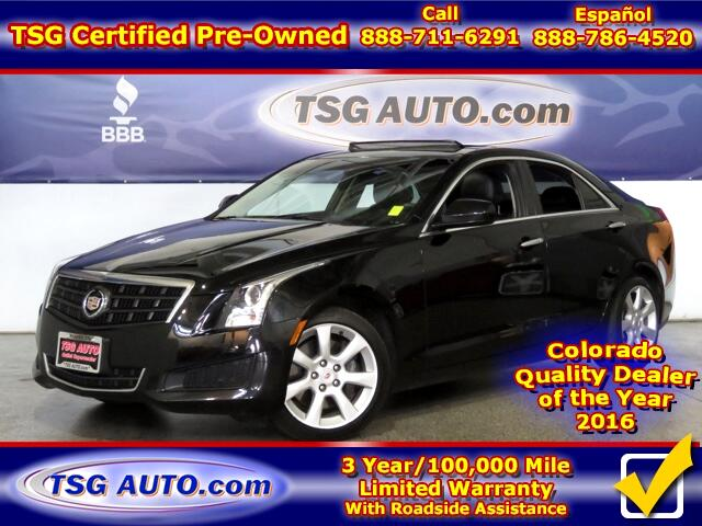 2013 Cadillac ATS 2.0L L4 Turbo AWD W/Leather