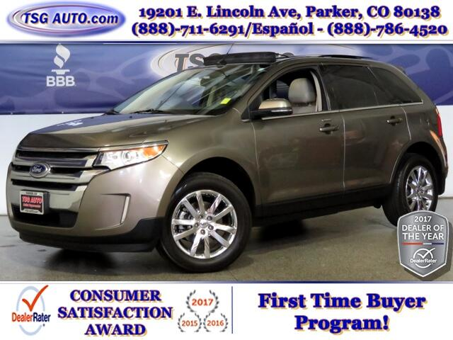 2014 Ford Edge Limited 3.5L V6 AWD W/Leather SunRoof