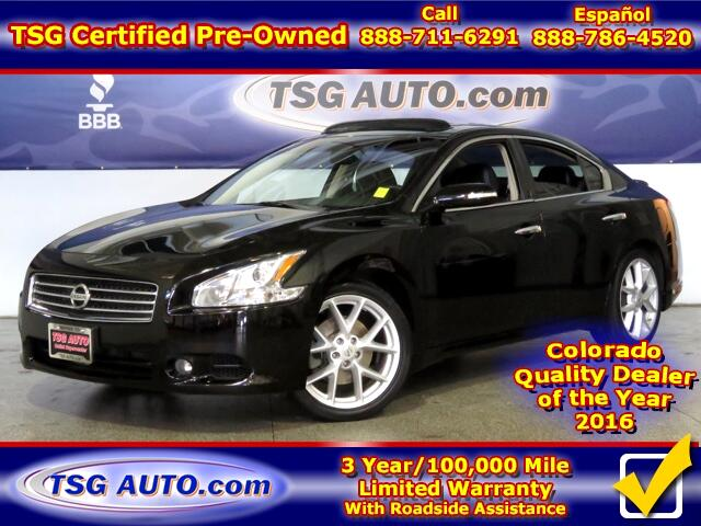 2009 Nissan Maxima SV 3.5L V6 W/Leather SunRoof
