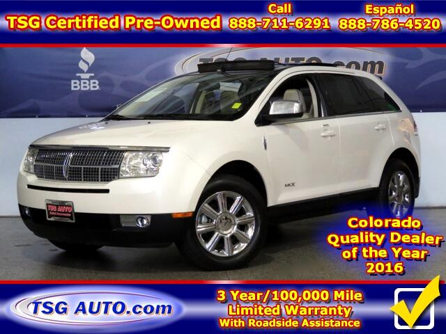 2008 Lincoln MKX 3.5L V6 AWD W/NAV Leather SunRoof