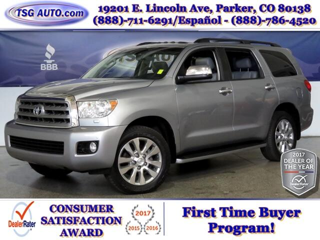 2010 Toyota Sequoia Limited 5.7L V8 4WD W/Leather SunRoof
