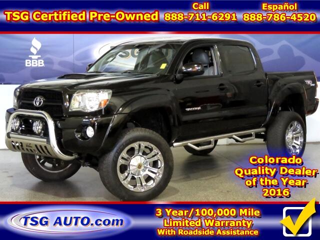 2011 Toyota Tacoma TRD Sport Double Cab 4.0L V6 4WD W/Leather Lift