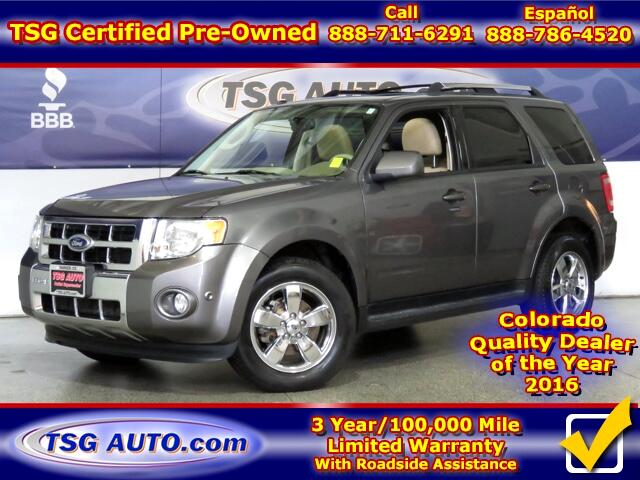 2012 Ford Escape Limited 3.0L V6 AWD W/Leather SunRoof