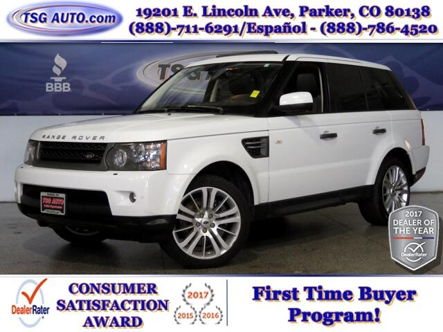 2011 Land Rover Range Rover Sport HSE Luxury 4.4L V8 4WD W/NAV Leather SunRoof