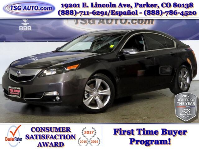 2014 Acura TL Advance 3.5L V6 W/Leather SunRoof