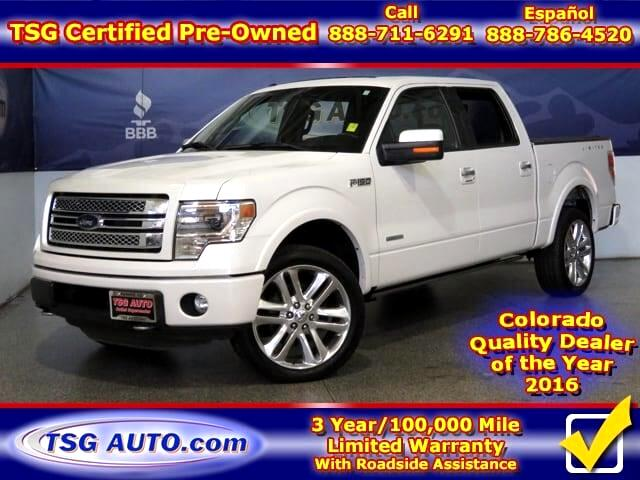 2014 Ford F-150 Limited 3.5L V6 Turbo 4WD W/Leather SunRoof