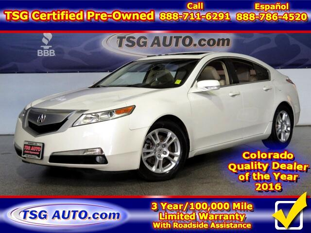 2010 Acura TL 3.5L V6 W/Leather SunRoof