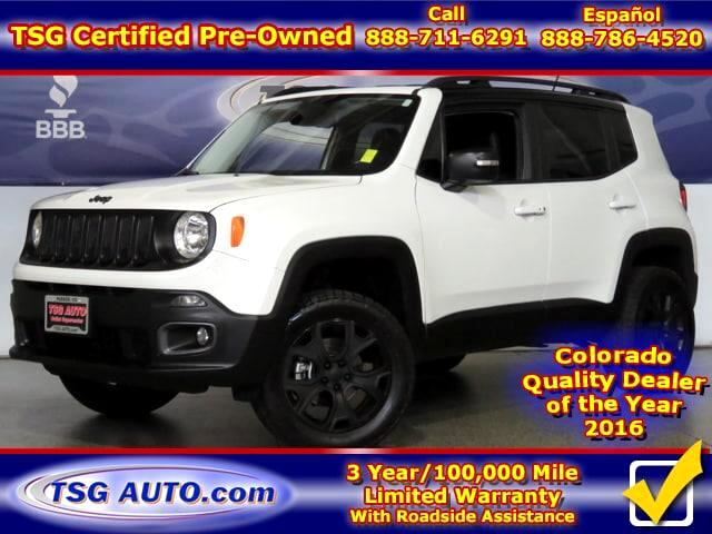 2015 Jeep Renegade Limited 2.4L I4 4WD W/Leather