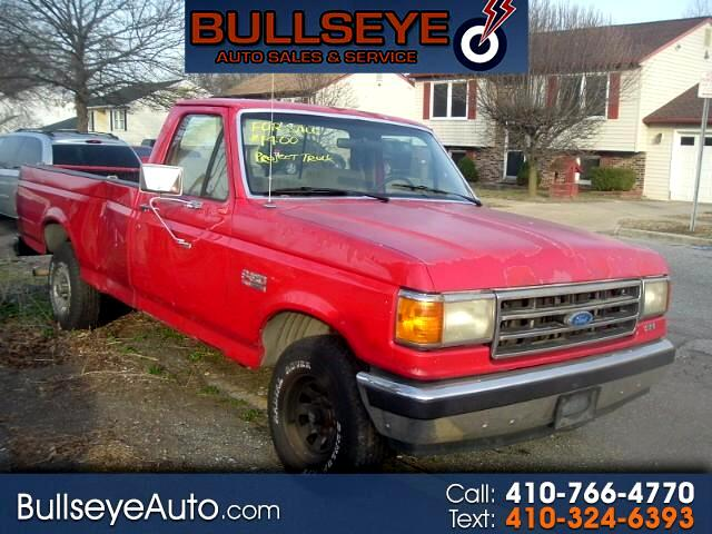 1990 Ford F-150 Reg. Cab Long Bed 2WD