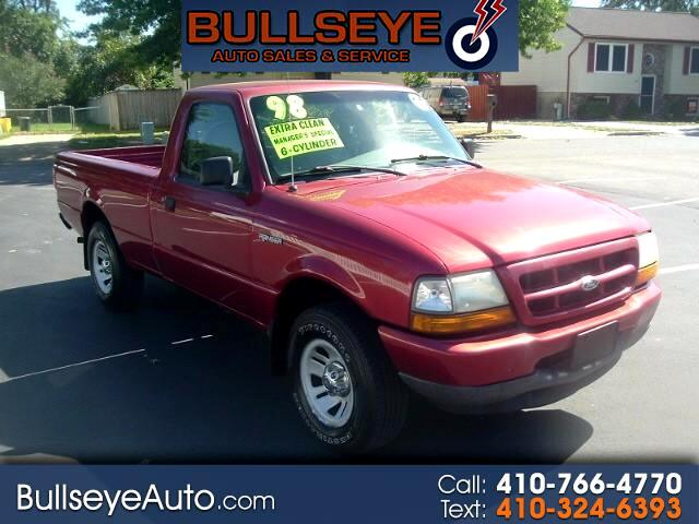 1998 Ford Ranger XLT Reg. Cab Long Bed 2WD
