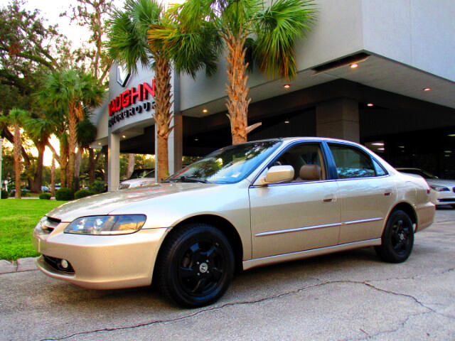 2000 Honda Accord EX Sedan with Leather