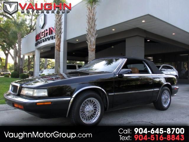 1990 Chrysler TC By Maserati Convertible