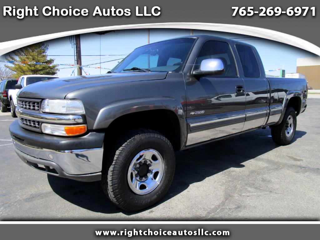 2001 Chevrolet Silverado 2500 Ext. Cab 4WD