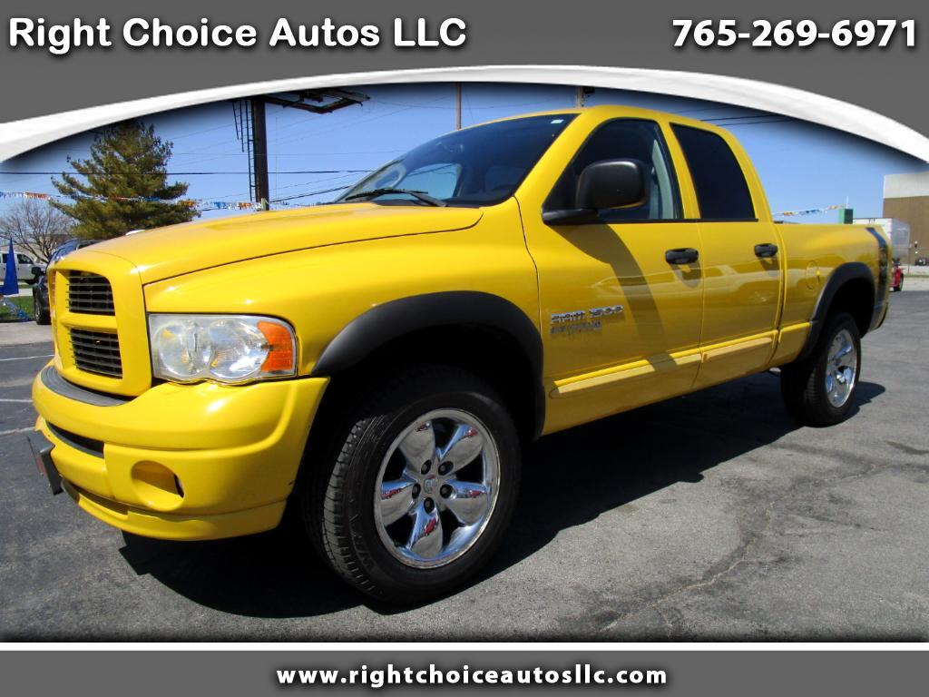 2005 Dodge Ram 1500 Laramie Quad Cab Short Bed 4WD