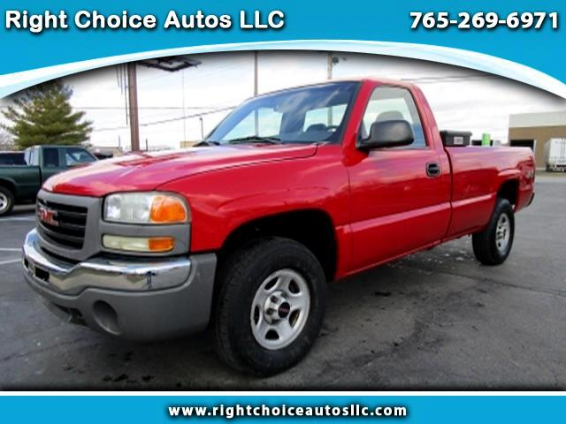 2003 GMC Sierra 1500 Work Truck Long Bed 4WD