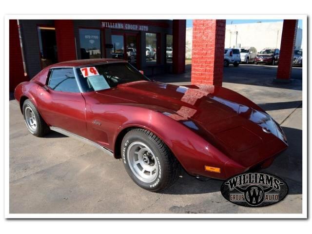 1974 Chevrolet Corvette Stingray 1LT Coupe Manual