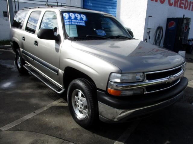 2001 Chevrolet Suburban C1500 2WD