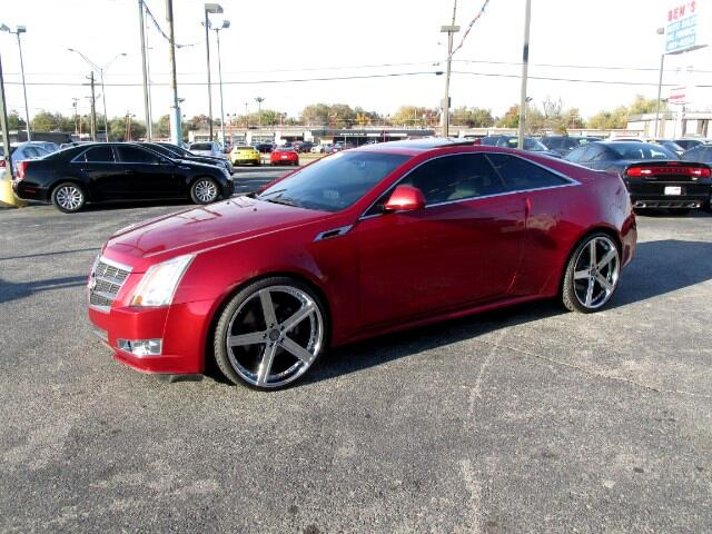 2011 Cadillac CTS Premium Coupe with Navigation