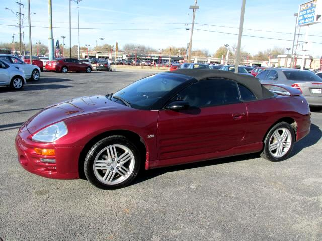 used 2005 mitsubishi eclipse gt spyder for sale in warr acres ok 73122 ben 39 s auto sales. Black Bedroom Furniture Sets. Home Design Ideas