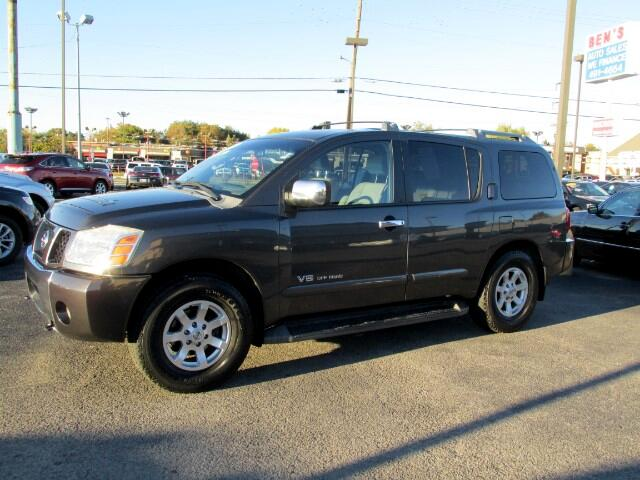 used 2006 nissan armada se 4wd off road for sale in warr acres ok 73122 ben 39 s auto sales. Black Bedroom Furniture Sets. Home Design Ideas