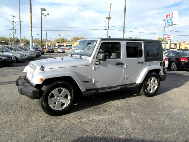 used 2007 jeep wrangler unlimited sahara 2wd for sale in warr acres ok 73122 ben 39 s auto sales. Black Bedroom Furniture Sets. Home Design Ideas