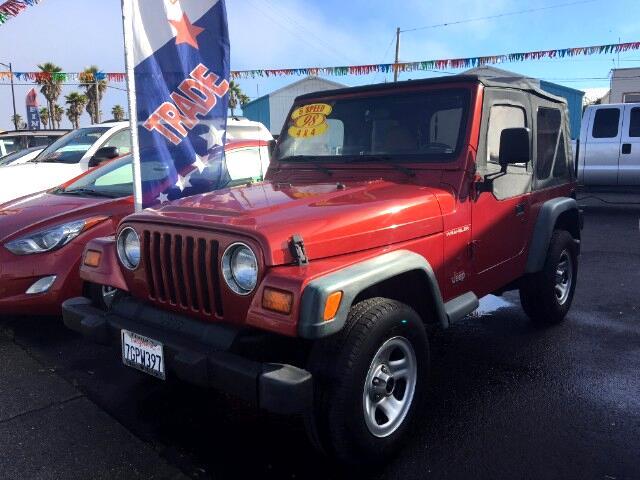 1998 Jeep Wrangler SE Sport Utility 2D