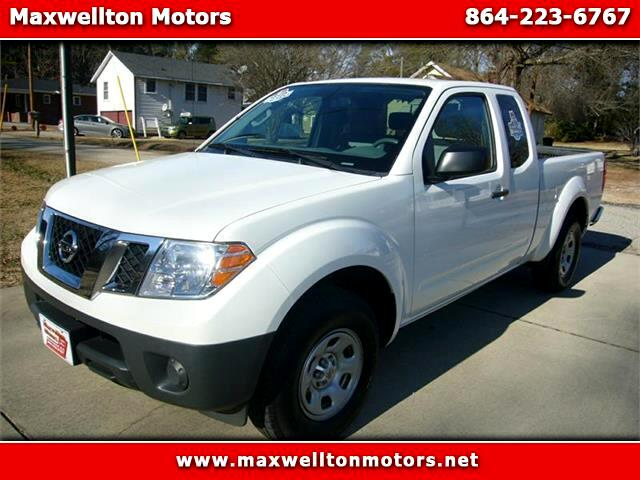 2013 Nissan Frontier S King Cab I4 5AT 2WD