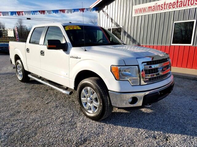 "2013 Ford F-150 4WD SuperCrew 139"" XLT"