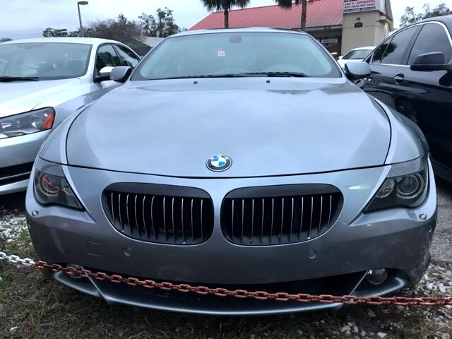 2005 BMW 6-Series 645Ci Coupe