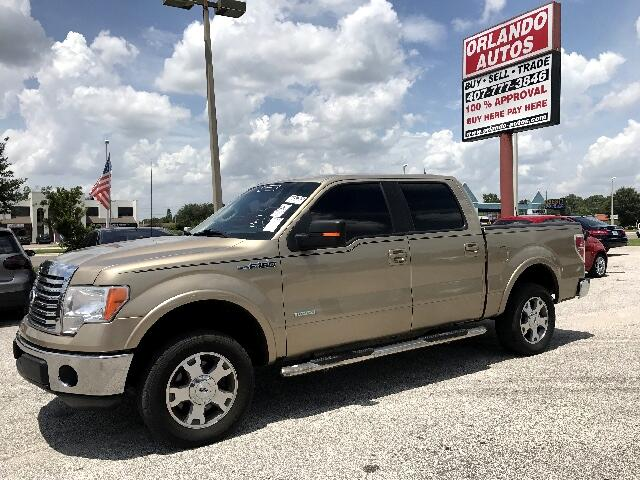2012 Ford F-150 Lariat SuperCab 5.5-ft Box 2WD