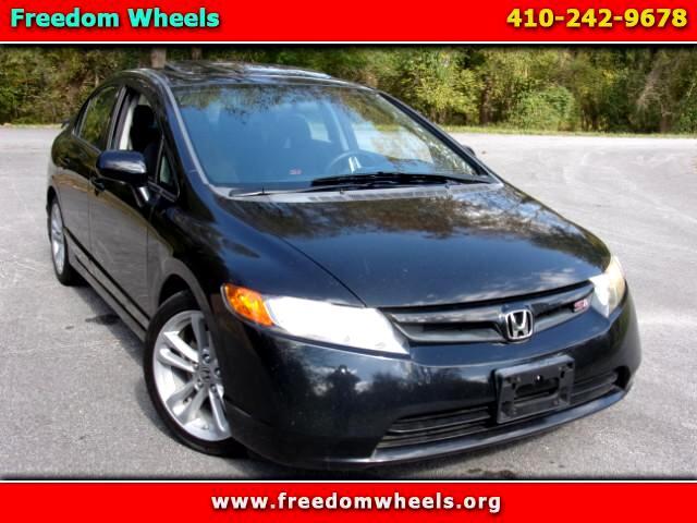 2008 Honda Civic Si Sedan with Navigation