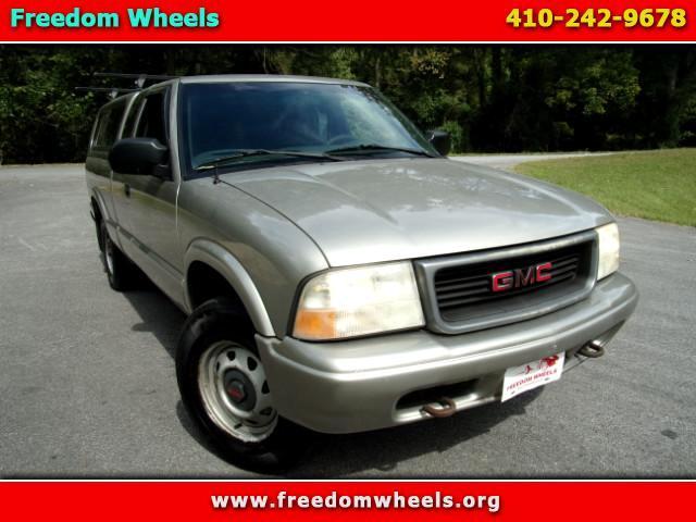2002 GMC Sonoma SL Ext. Cab 4WD