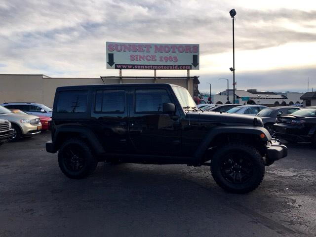 2016 Jeep Wrangler Willy's Wheeler