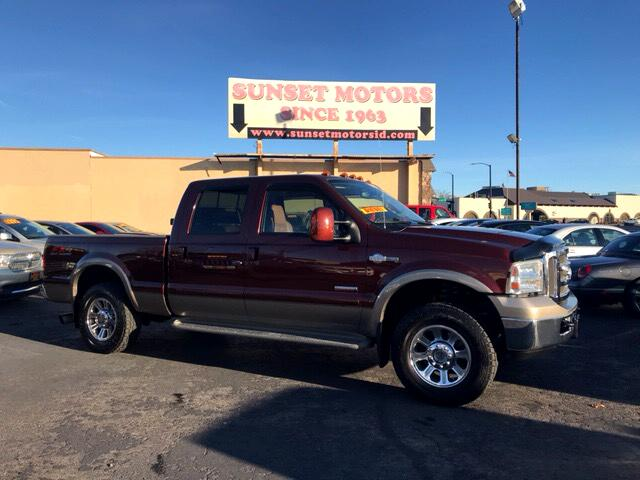 2005 Ford F-250 SD King Ranch Crew Cab 4WD