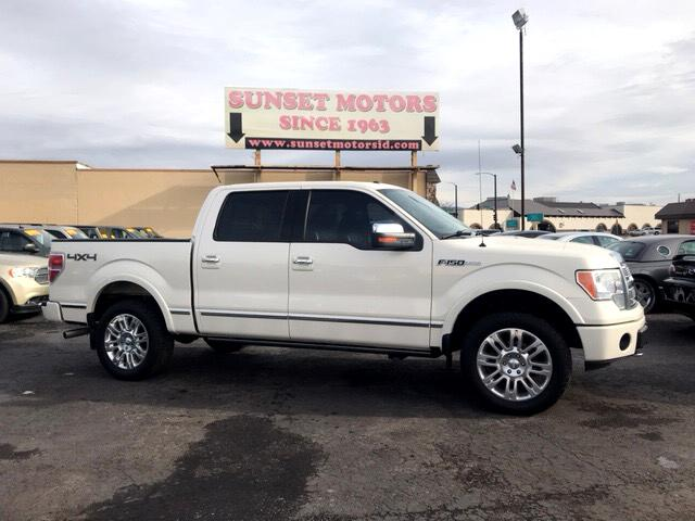 2009 Ford F-150 Platinum 4WD SuperCrew 5.5' Box