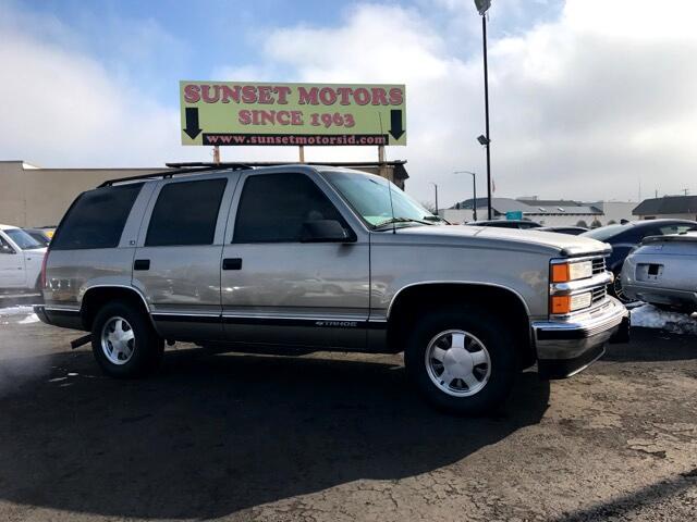 Used 1999 Chevrolet Tahoe 4 Door 2wd For Sale In Boise Id