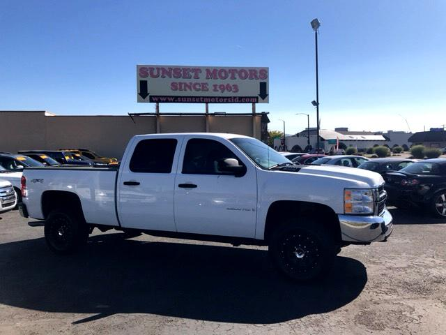 2009 Chevrolet Silverado 2500HD LT Crew Cab Short Bed 4WD