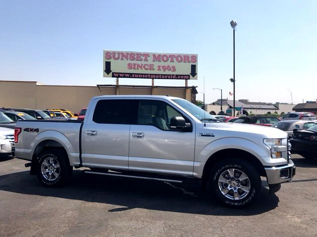 2017 Ford F-150 XLT 4WD SuperCrew 5.5' Box