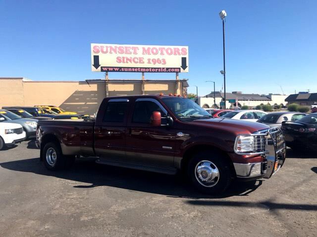 2007 Ford F-350 SD King Ranch Crew Cab 2WD DRW
