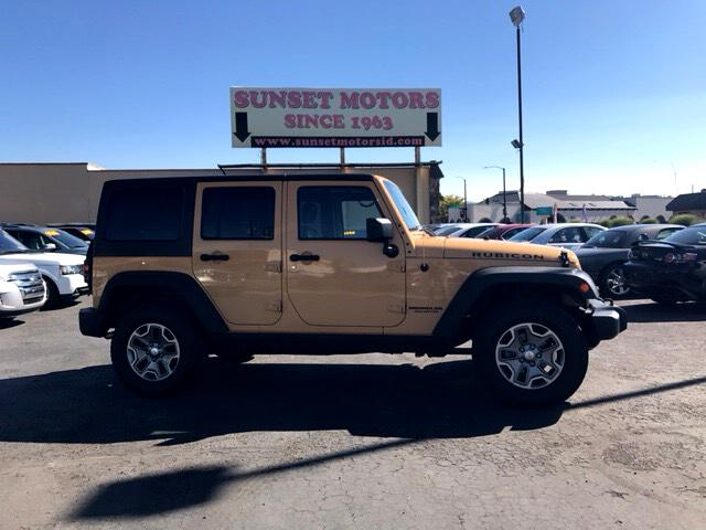 2014 Jeep Wrangler Unlimited Rubicon 4WD