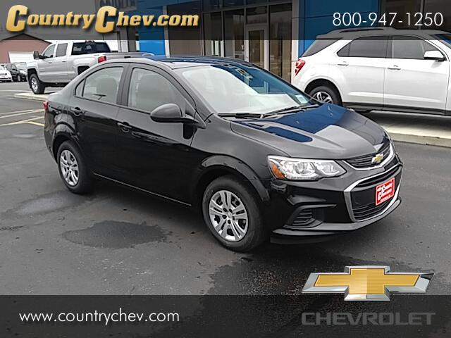 new 2017 chevrolet sonic ls manual sedan for sale in minneapolis mn 55302 country chevrolet. Black Bedroom Furniture Sets. Home Design Ideas