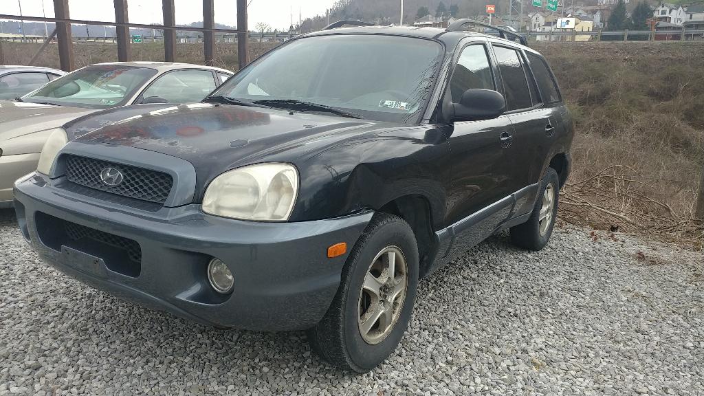 2001 Hyundai Santa Fe GLS 4WD