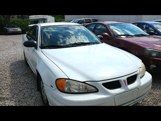 2003 Pontiac Grand Am SE1 sedan