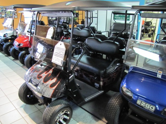 2012 EZGO TXT Gas Golf Cart