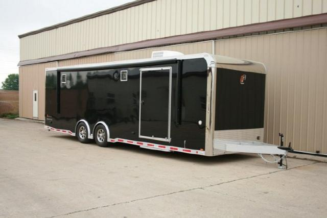 2018 Intech Trailers Icon 28FT CUSTOM ALUMINUM RACE TRAILER