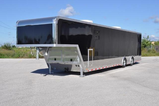 2017 Intech Trailers Gooseneck 42FT CUSTOM GOOSENECK RACE TRAILER